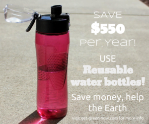 Use Reusable Bottles