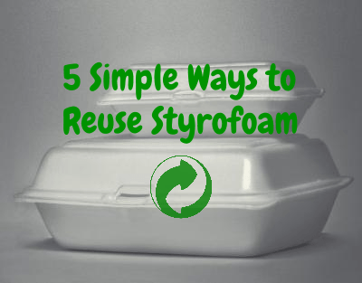 5 ways to Reuse Styrofoam Simply and Effectively