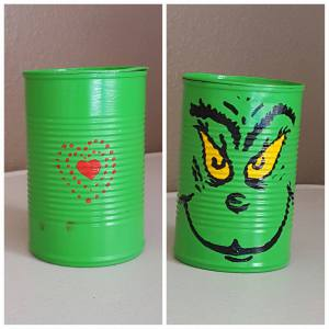 Diy snack container from a tin can
