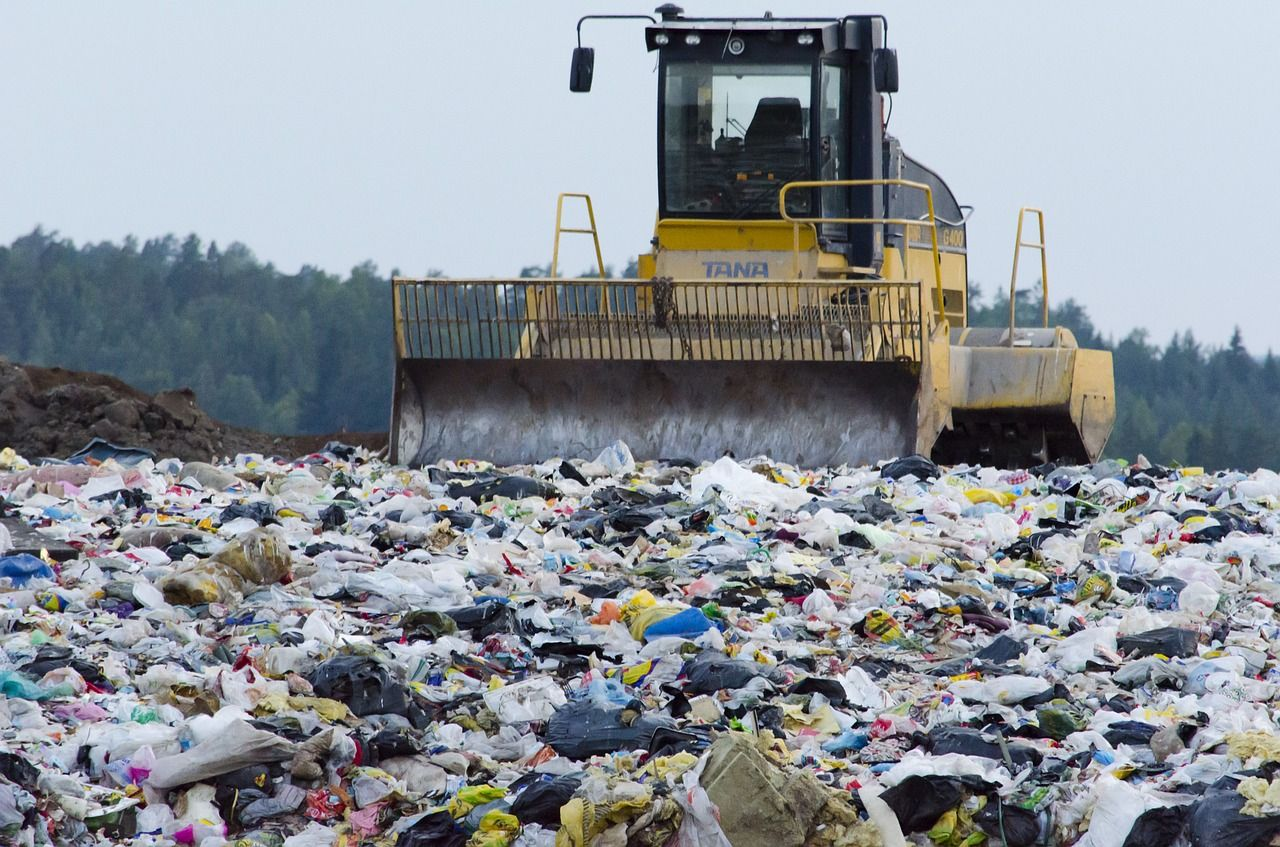 Image of a landfill