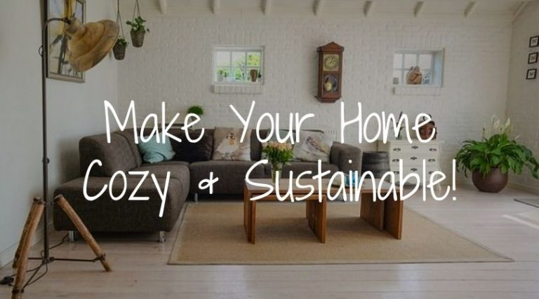 How to Make Your Home Cozy and Sustainable: 8 Tips!