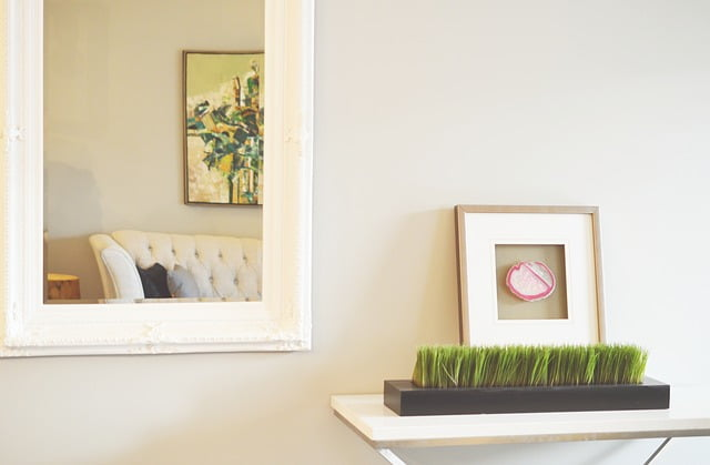 Home wall mirror decoration