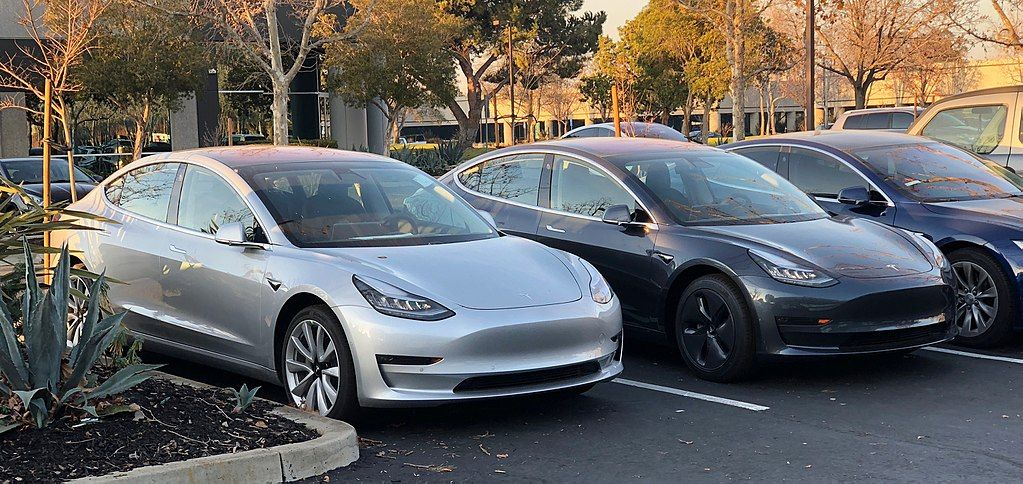Tesla Model 3 Vehicles