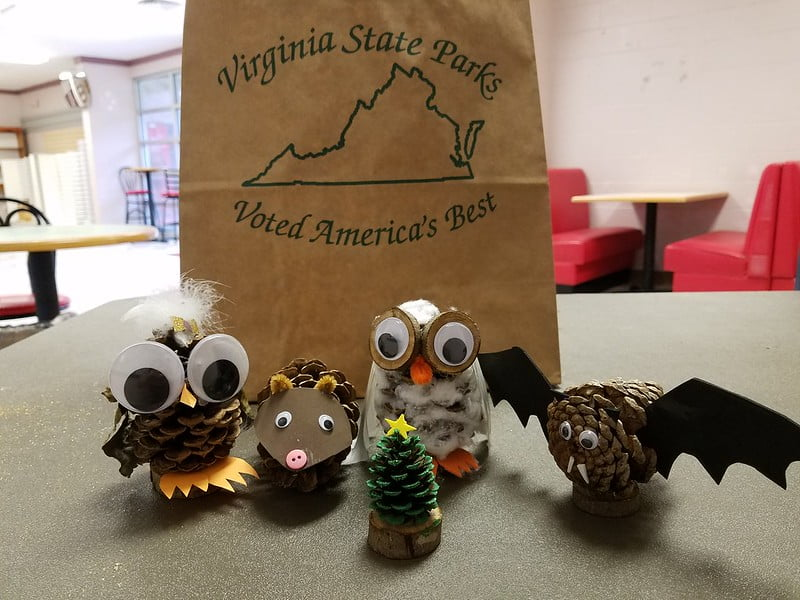 Pinecone Animals Craft - 17 Eco-Friendly Arts and Crafts Projects