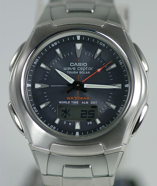 Casio Solar-Powered Wristwatch