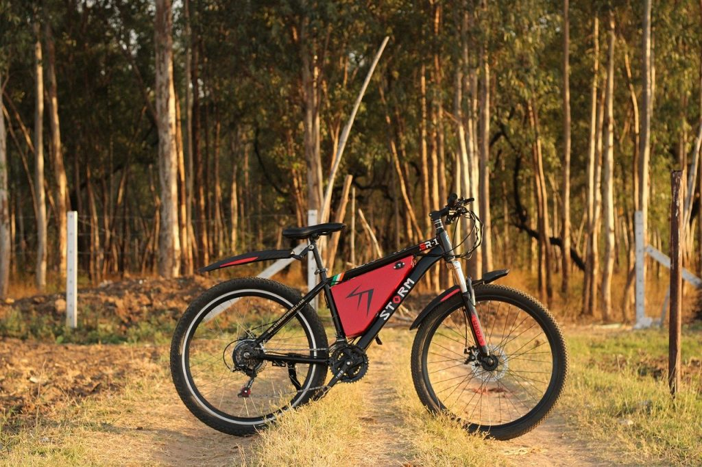 Image of an Electric Bike - Are Electric Bikes Good for the Environment?