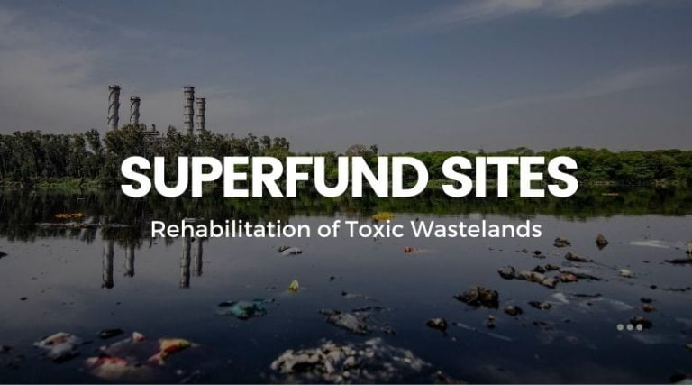 Toxic Wastelands: Transforming Superfund Sites into Publicly Funded Alternative Energy Farms