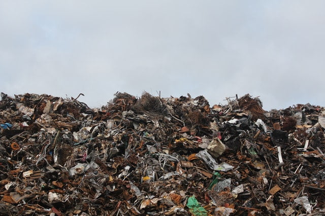 Electronic Waste in a Landfill