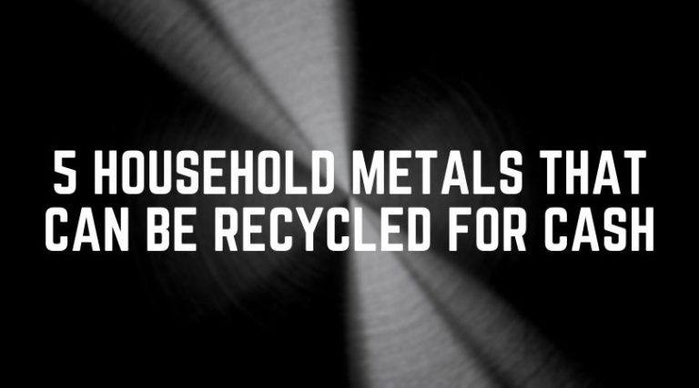 5 Metals in your Home that can be Recycled for Cash